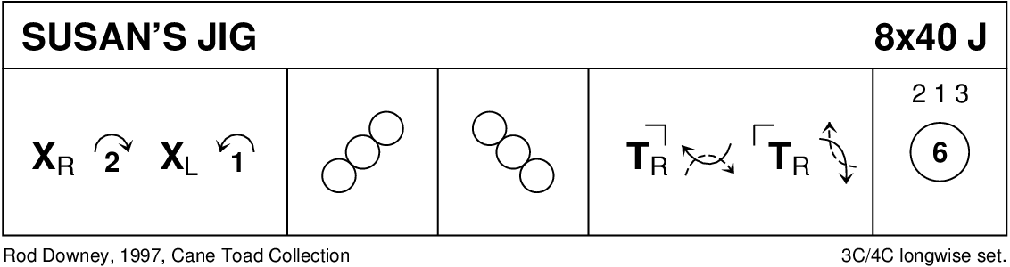 Susan's Jig Keith Rose's Diagram