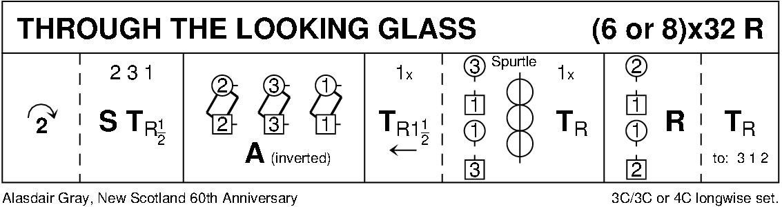 Through The Looking Glass (Gray) Keith Rose's Diagram