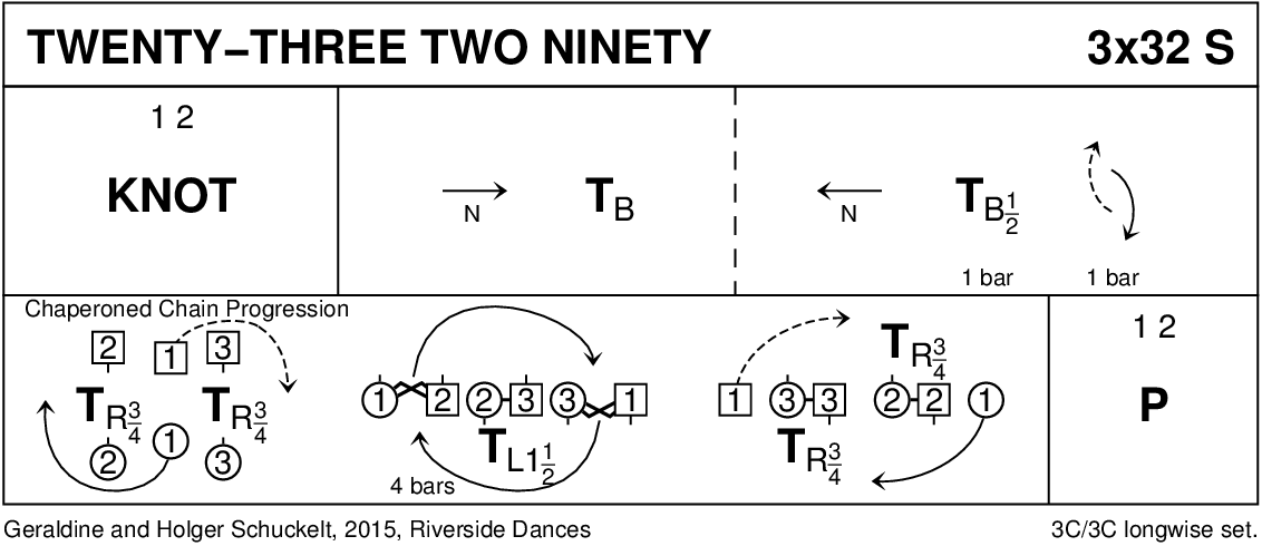 Twenty-Three Two Ninety Keith Rose's Diagram
