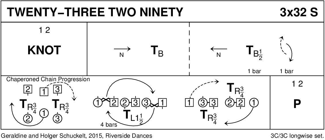 Twenty-Three Two Ninety Keith Rose's Diagram