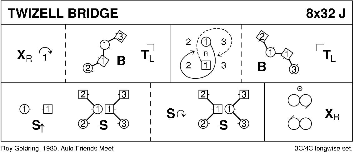 Twizell Bridge Keith Rose's Diagram
