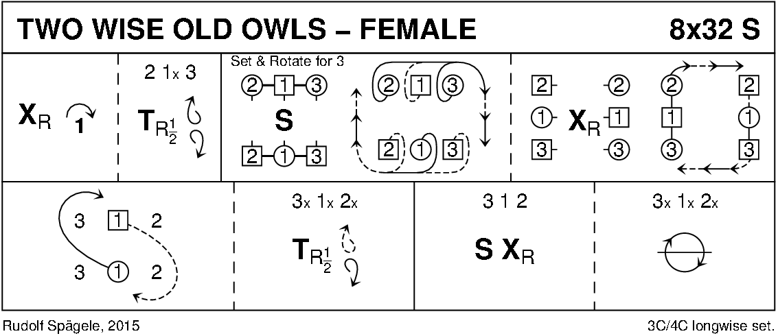 Two Wise Old Owls - Female Keith Rose's Diagram