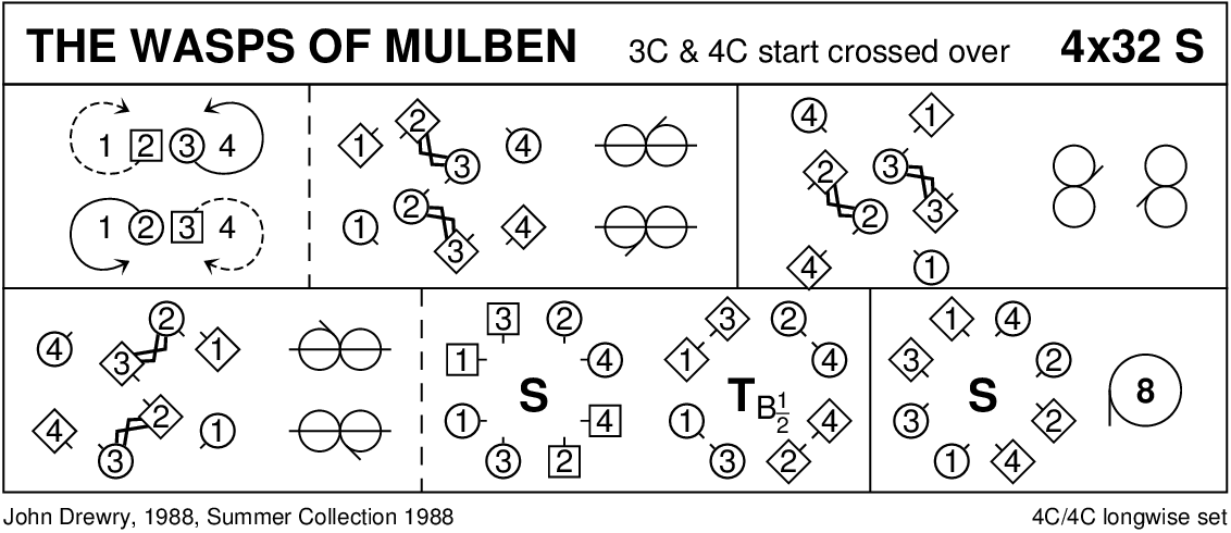 The Wasps Of Mulben Keith Rose's Diagram