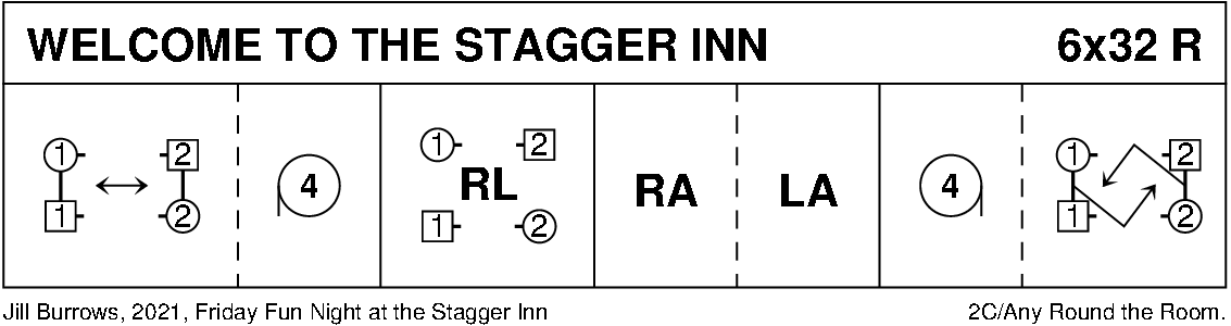 Welcome To The Stagger Inn Keith Rose's Diagram