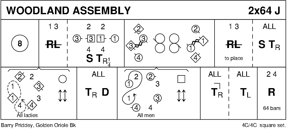 Woodland Assembly Keith Rose's Diagram