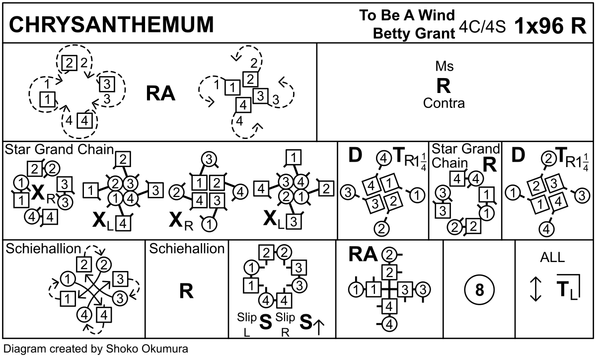 Chrysanthemum Keith Rose's Diagram
